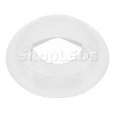 Накладка ART-DECK-CAP-LID-R50 (WH) (Arlight, Металл)