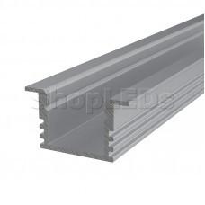 Профиль врезной алюминиевый 2212-2 2 м REXANT