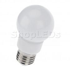 Лампа шар e27 9 LED ∅50мм RGB