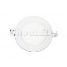 Светодиодная панель BRL-T-150-9W (белый круг, 9W, 150x12mm) (теплый белый 3000K)