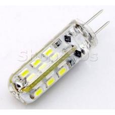Светодиодная лампа DL220-G4-2W  (220V, 2W, 130 lm) (дневной белый 4000K)