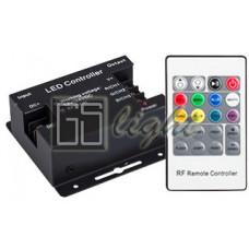 RGB-контроллер LN-RF20B 24A (12-24V, 288-576W, ПДУ RF)